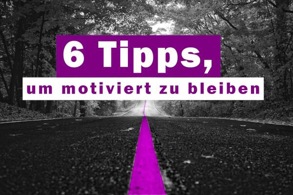 Motiviert sein und motiviert bleiben trotz Misophonie