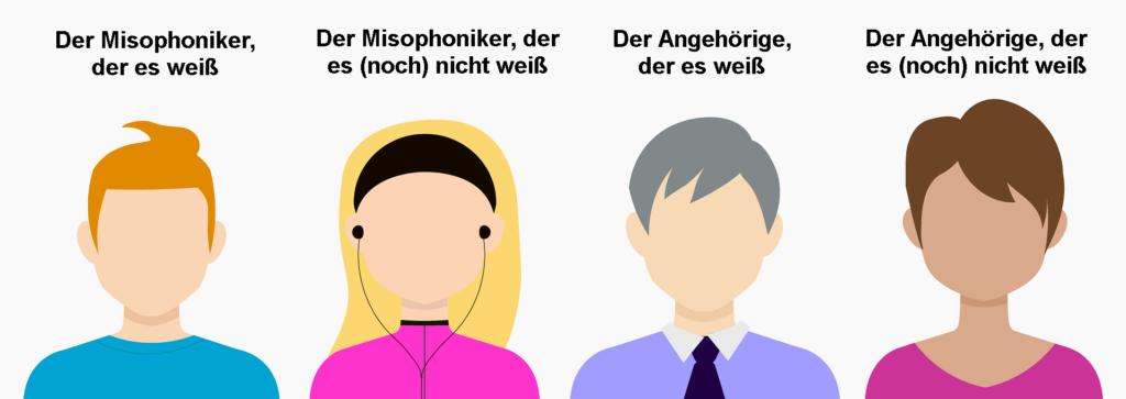 Akteure der Misophonie