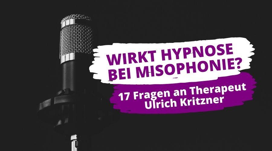 Wirkt Hypnose Misophonie Beitragsbild