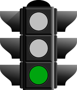 Misophonie Ampel Phase grün