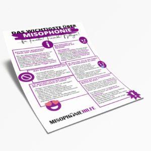Das Misophonie Infoblatt